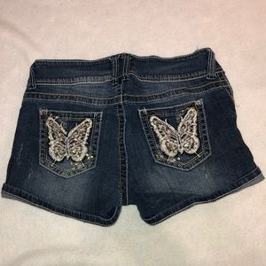 No boundaries butterfly shorts